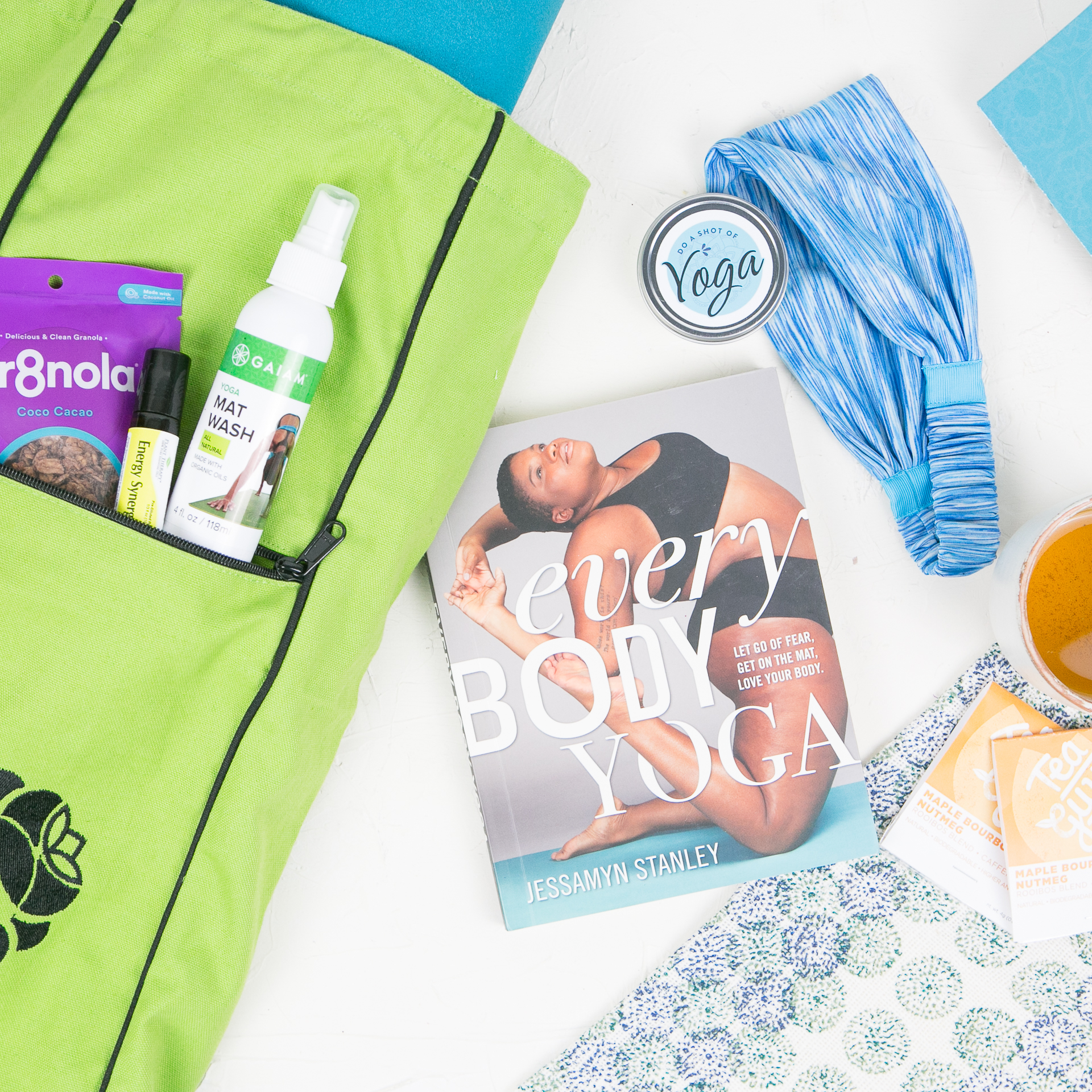 Do a shot of yoga subscription box items
