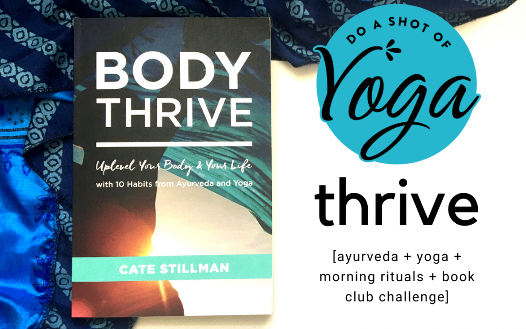 April 2020 Do a Shot of Yoga Book of the Month