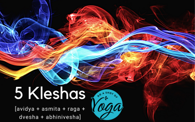 What are the 5 kleshas and how are they stopping you from getting what you need from your yoga practice?