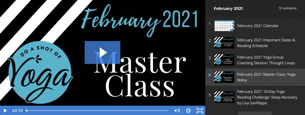 February 2021 DSY